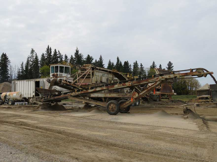 Gravel Equipment